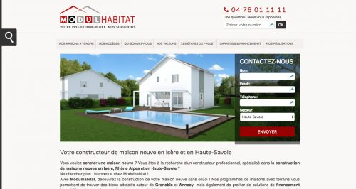 Anthem Création - Création de site Internet à Reims - Modulhabitat