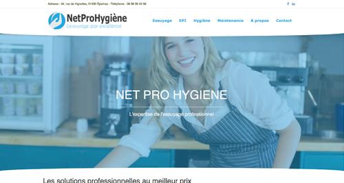 Anthem Création - Création de site Internet à Reims - Net Pro Hygiene