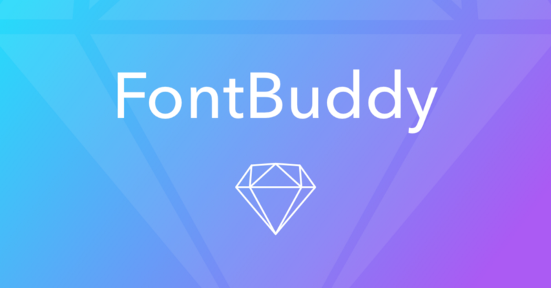 Fontbuddy Sketch Plugin