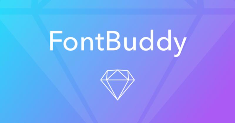 Fontbuddy Sketch Plugin