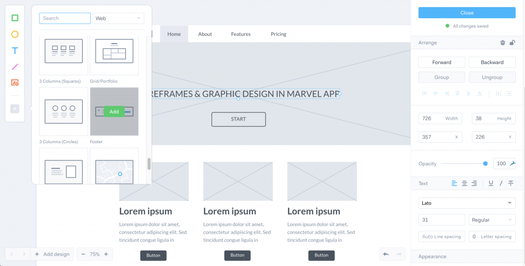 Marvel App Design Systeme Bibliotheque Patterns