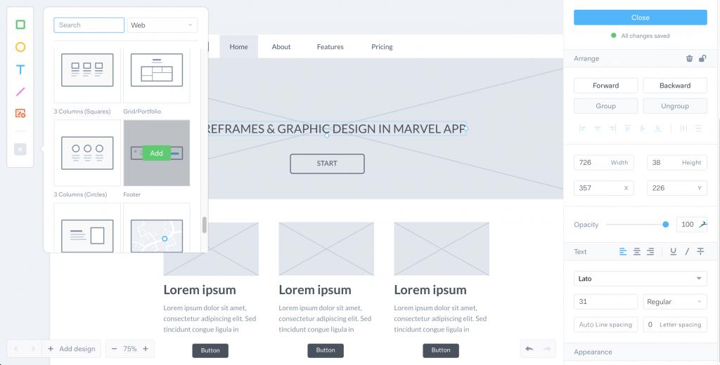 Marvel App Design Systeme Bibliotheque Patterns