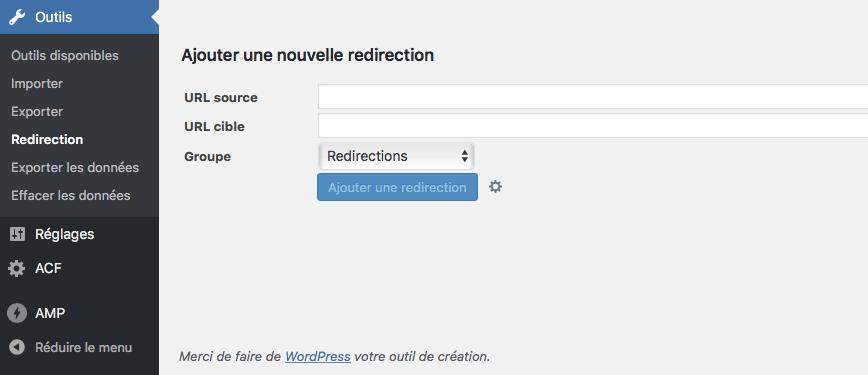 Conserver votre référencement avec le plugin WordPress Redirection Menu